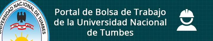 Bolsa de Trabajo de la Universidad Nacional de Tumbes