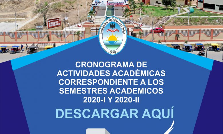 Photo of CRONOGRAMA DE ACTIVIDADES