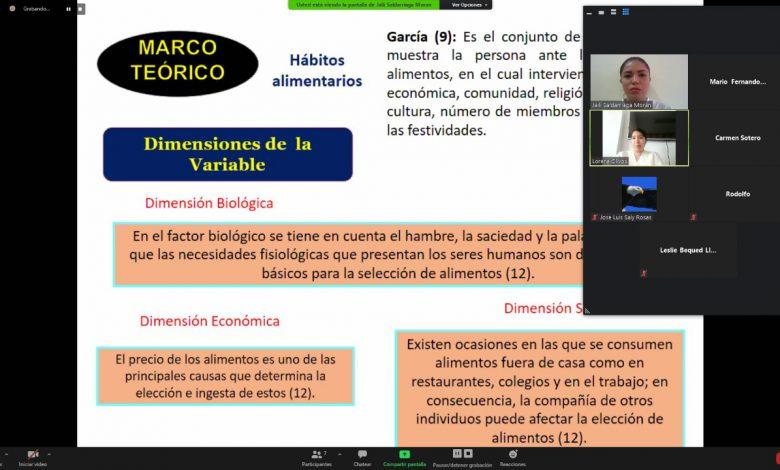Photo of Continúan sustentaciones de tesis de manera virtual