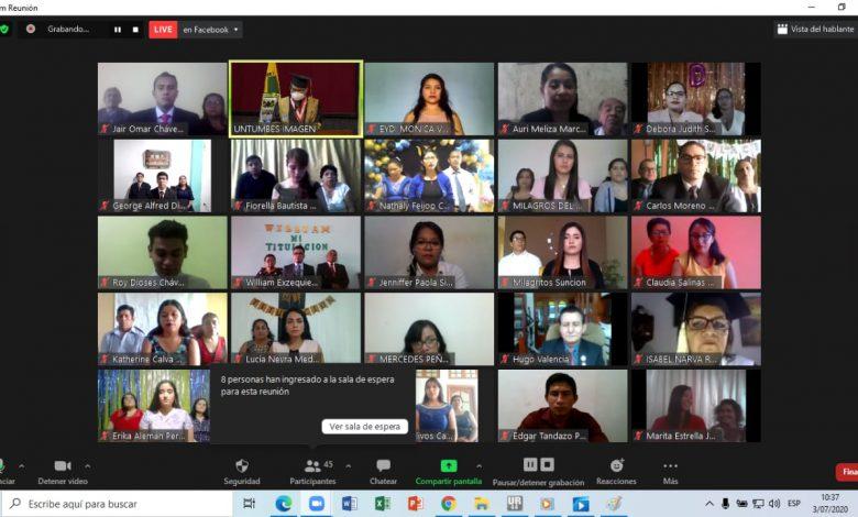 Photo of UNTUMBES desarrolla titulación virtual para 31 nuevos profesionales