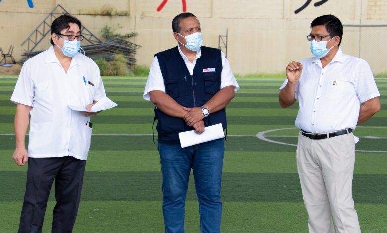 Photo of Untumbes y Diresa inspeccionan el lugar donde será el Vacunatón